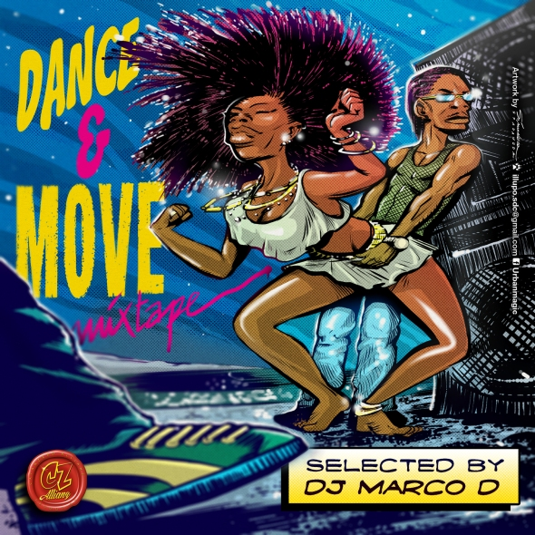 Dance & Move Mixtape Cover
